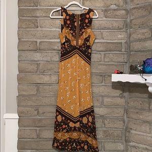 free people maxi bohemian dress